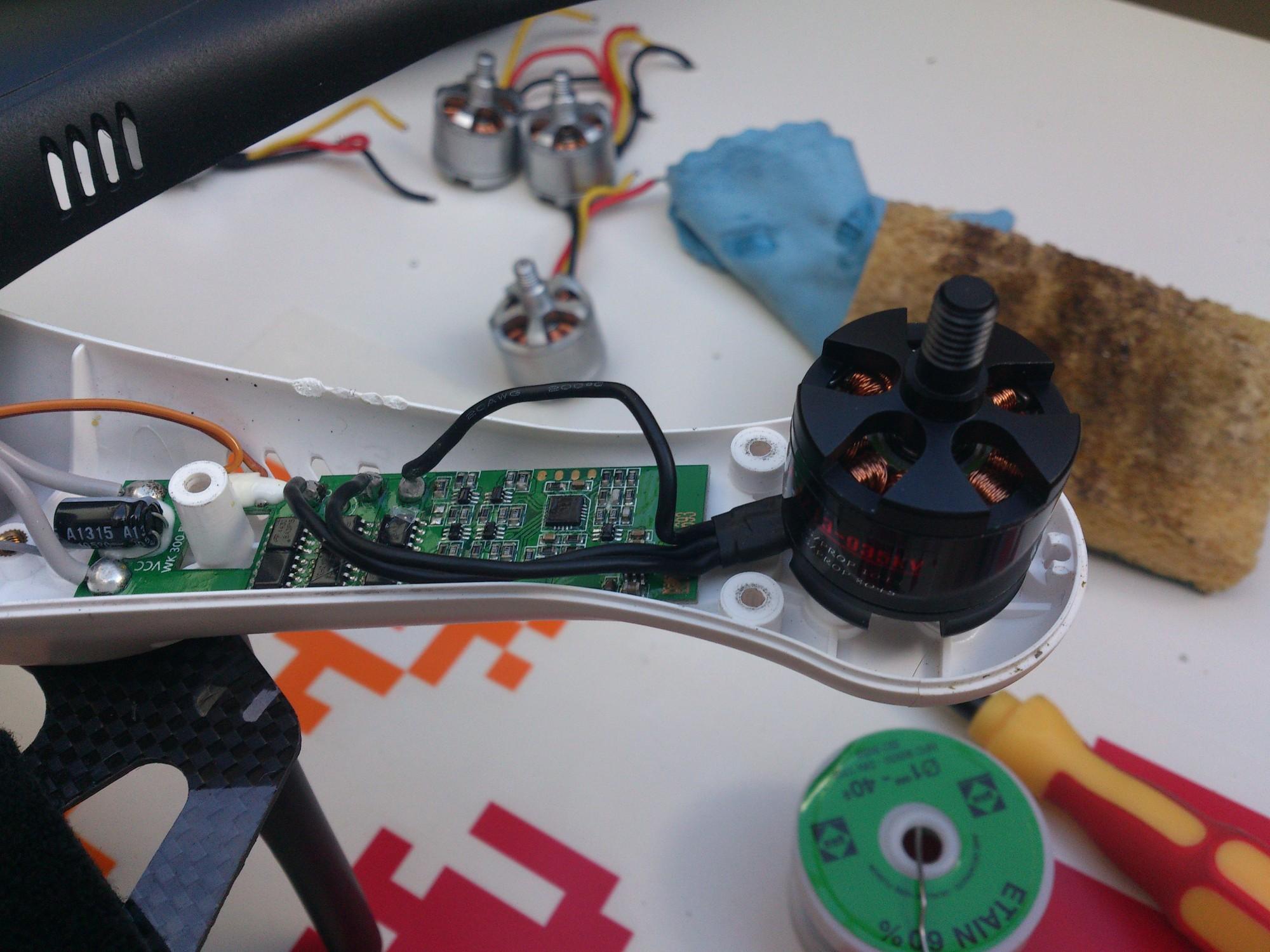 Montage moteur Emax