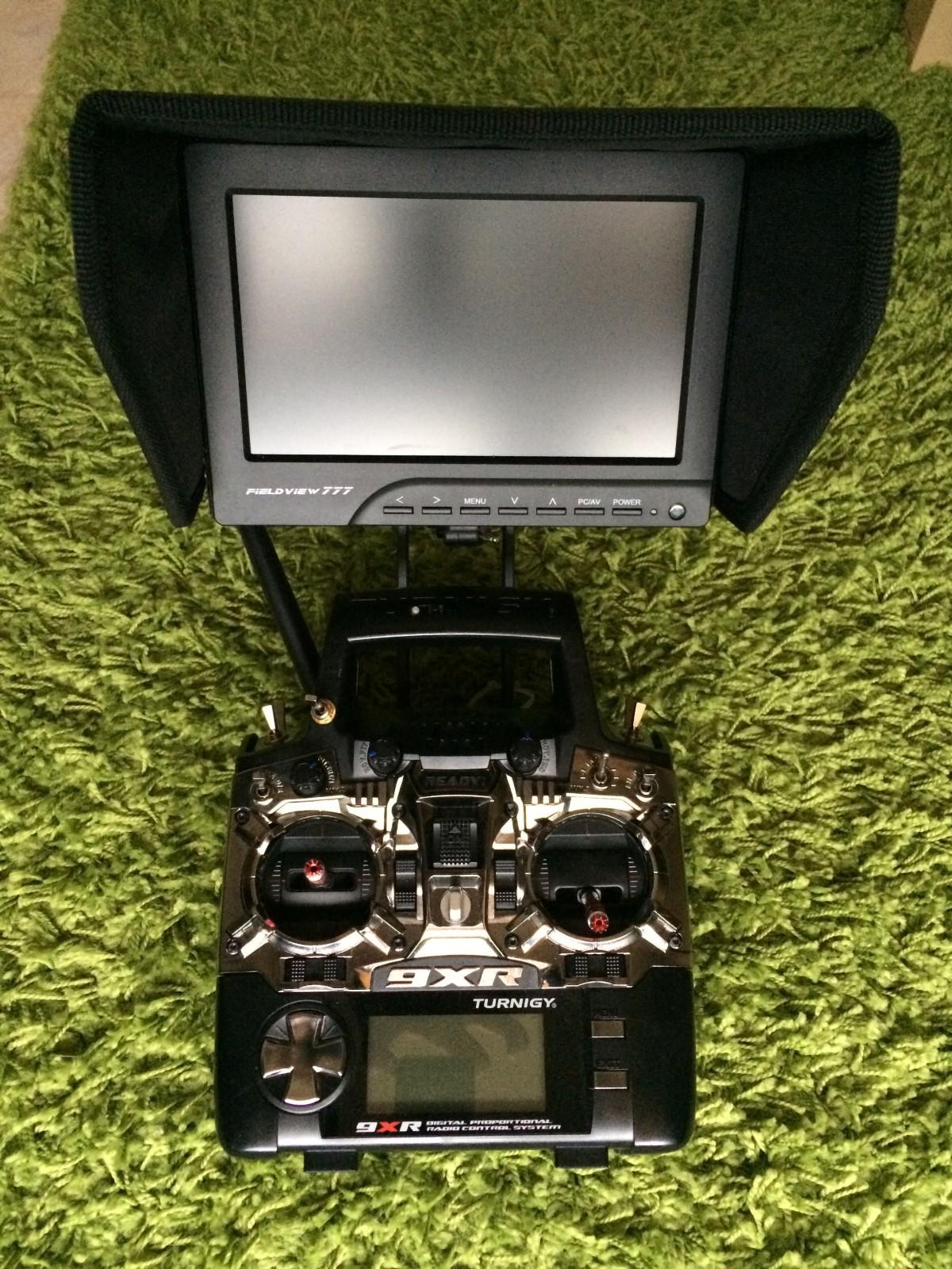 9XR Mod FPV Front