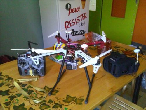 Mes drones vue rapide