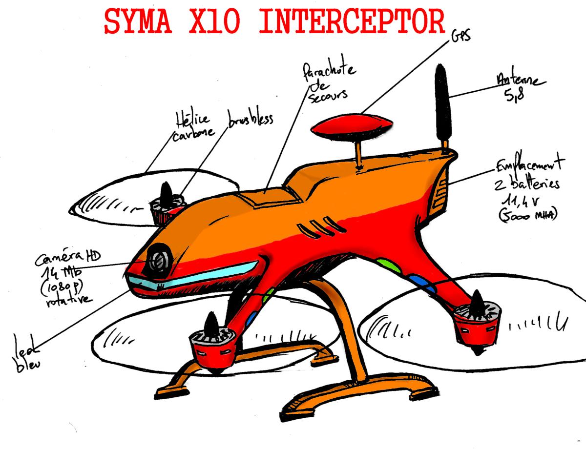 syma X10
