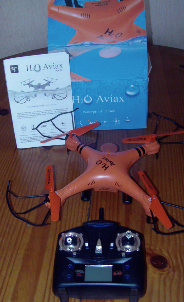 drone waterproof H2O