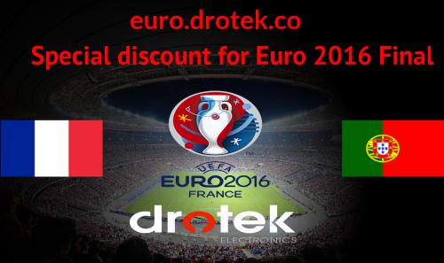 Euro 2016 - Promo chez DROTEK pour feter la finale des bleus