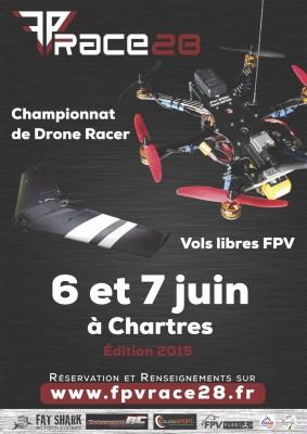 Affiche FPV Race 28