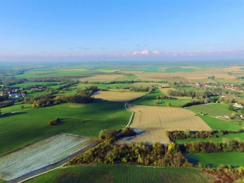 Jura paysages champs et vignes