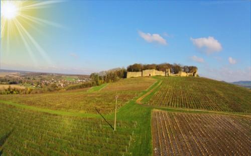 Chateau d'Arlay dans le Jura