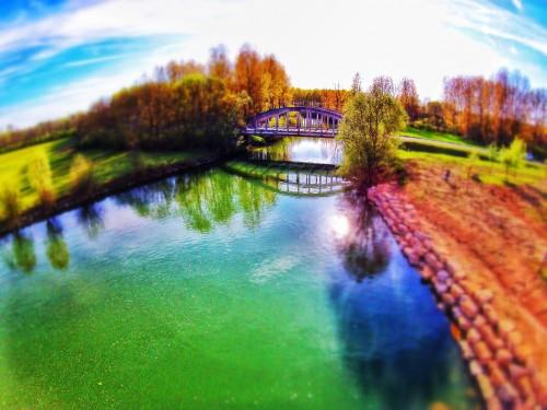 Plan d'eau en Bourgogne