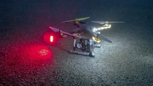 mon drone apres un vol d'essai