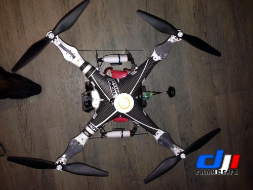 Helices 10 sur Dji Phantom