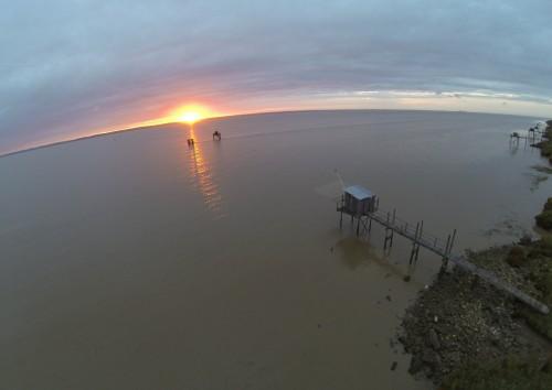 lever de soleil sur l'estuaire '33)