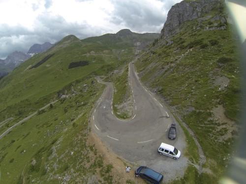 route menant a la station de ski de gavarnie